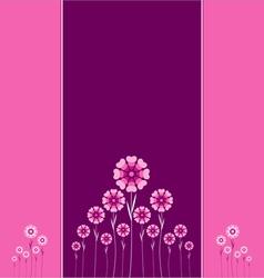 Valentin card 46 vector image