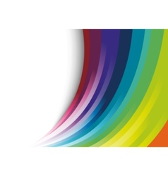 abstract halftone rainbow background vector image vector image