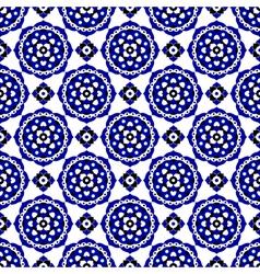 Seamless - oriental bloom tiles vector