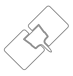 Drywall repair the black color icon vector