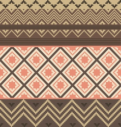 Colored ethnic texture vector image vector image