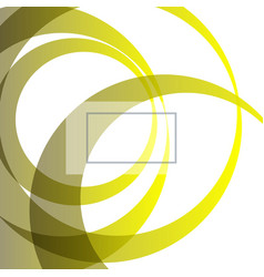 Abstract bright technology circles background vector