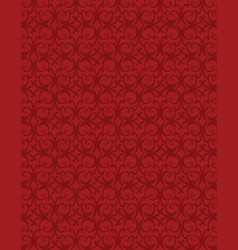 Abstract red background with repeated pattern vector