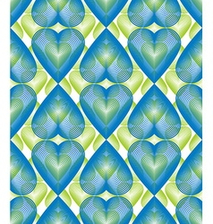 bright ornate pattern with graphic lines symmetric vector image