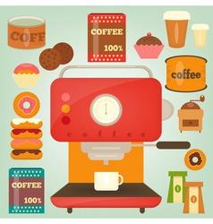 coffee2 vector image