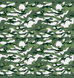 colorful seamless pattern of forest camouflage vector image