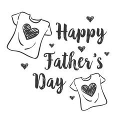 Design celebration father day collection vector