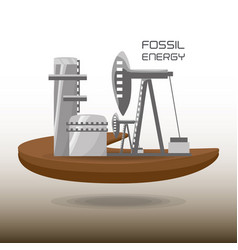 Landscape related with fossil energy vector
