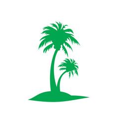 Palm logo image vector
