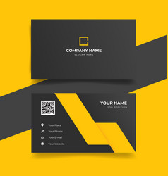 Print business card template vector