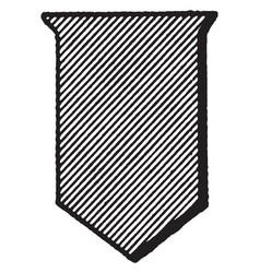 Purpure shield color are escutcheon emblazoned vector