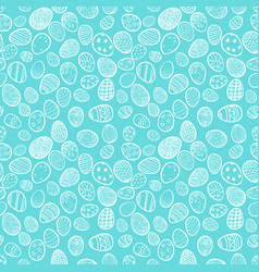 seamless background for happy easter decorative vector image