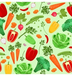 Vegetables background for vegetarian menu and vector
