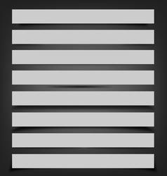 Shadows vector image