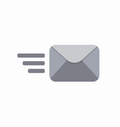 contact envelope letter mail post send icon vector image vector image