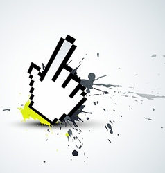 hand mouse vector image
