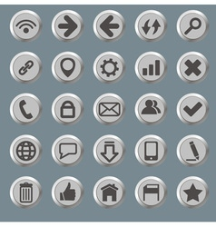 Set of the web icons vector