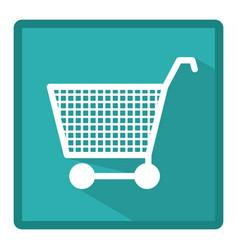 symbol market car icon vector image vector image