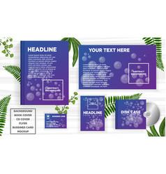 Abstract design banner web template vector