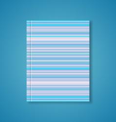 Brochure cover design vector