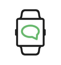 Messaging app vector