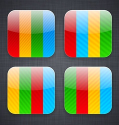 Web app icons vector