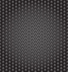 Web gray perforated metal abstract background vector image