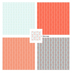 pattern wallpaper retro vector image