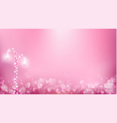 Abstract valentines background as romantic moment vector