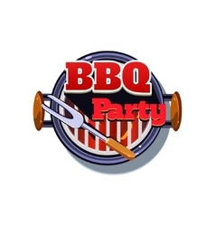 BBQ Sticker vector