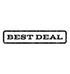 Best deal watermark stamp vector