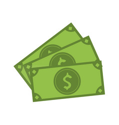 Cash money bills icon image vector