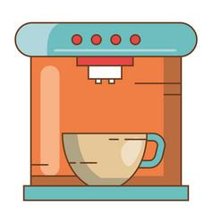 coffee maker machine icon vector image