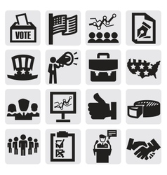 Election icons vector