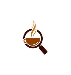 Find coffee logo icon design vector