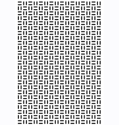 Rectangle square block pattern vector