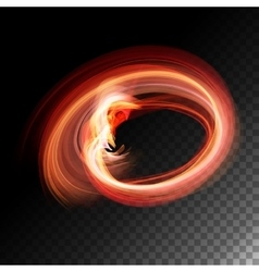 Transparent Flame vector