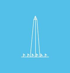 Washington Monument vector image