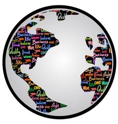 World creative world vector