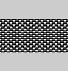 abstract black metallic mesh texture pattern for vector image