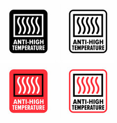 Anti-high temperature protective product vector