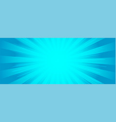 background in cartoon comics book style rays from vector image