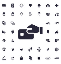 Card payment icon vector