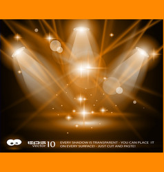 Concert lights vector
