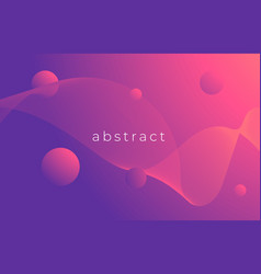 creative design poster abstract gradient template vector image