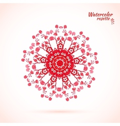 laced snowflake vector image