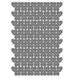 Love heart pattern vector
