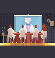 Medical conference composition vector