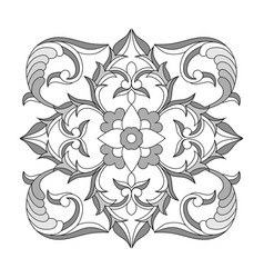 pattern elements in ethnic national style vector image