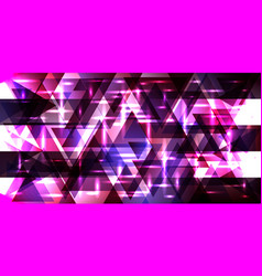 pattern of metal stripes in light purple colors vector image